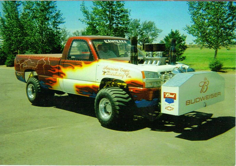 4x4 Pulling Truck Parts : Ford pulling trucks for sale