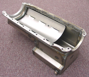 STEEL BIG BLOCK CHEVY OIL PAN