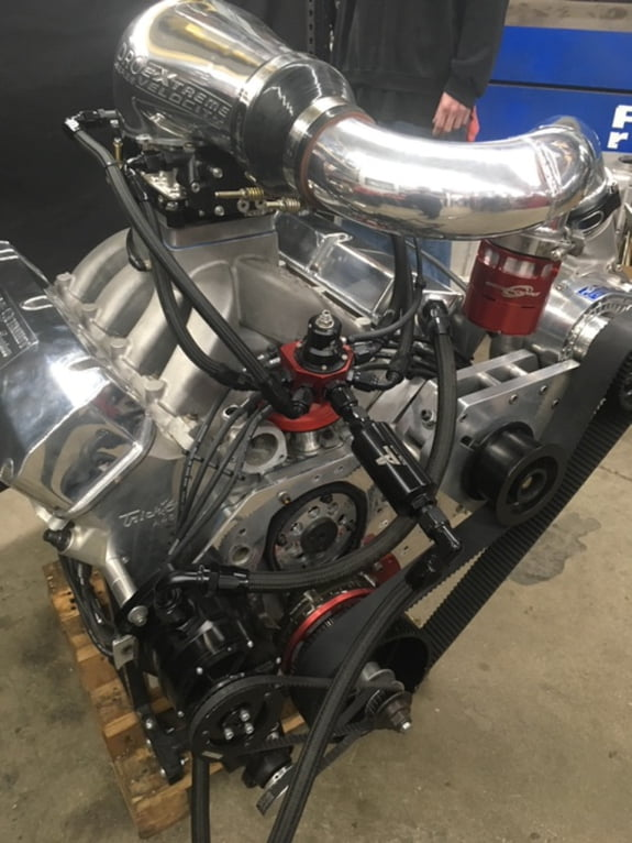 567 Cubic Inch / Ford Pro-Charger Engine - Steve Schmidt Racing Engines