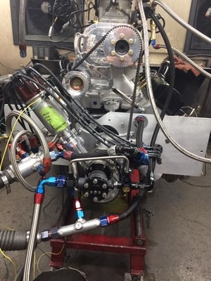 583 Cubic Inch - Ford / Blower Engine   2200 Hp