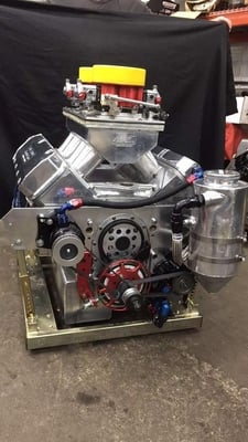 632 ProFiler 12 Degree Dual Carb Drag Race Engine