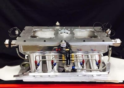 Switzer Dynamics Nitrous System...built and fully plumbed in house by SSRE.