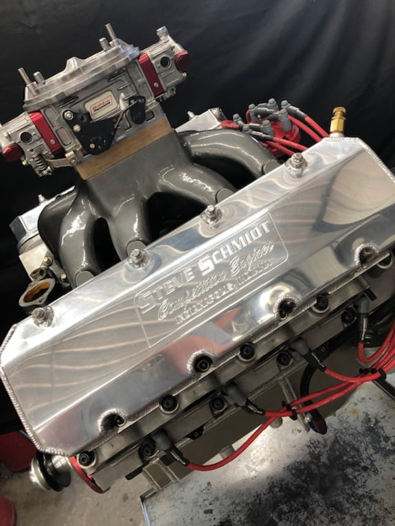 640 Cubic Inch / 12° Profiler Heads / Titanium Valves - Steve Schmidt Racing Engines