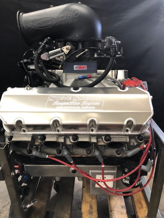 540 Cubic Inch / F2 ProCharger Engine - Steve Schmidt Racing Engines