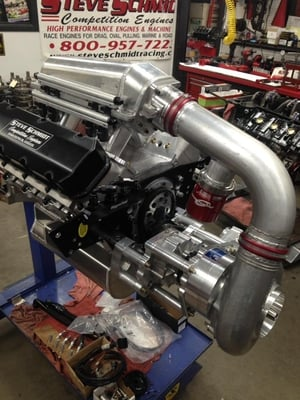 Holley EFI  2300 HP New F3X ProCharger w/ 151 Drive.  With a 160 Drive and more aggressive tune 2700+ is easily attainable.