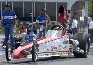 BOB BAILEY - WABASH, IN A/ECONO DRAGSTER - COMP ELIMINATOR
