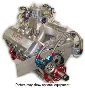 "585 ""14 Degree NOS Single Carb"" Drag Racing Engine - Steve Schmidt Racing Engines"