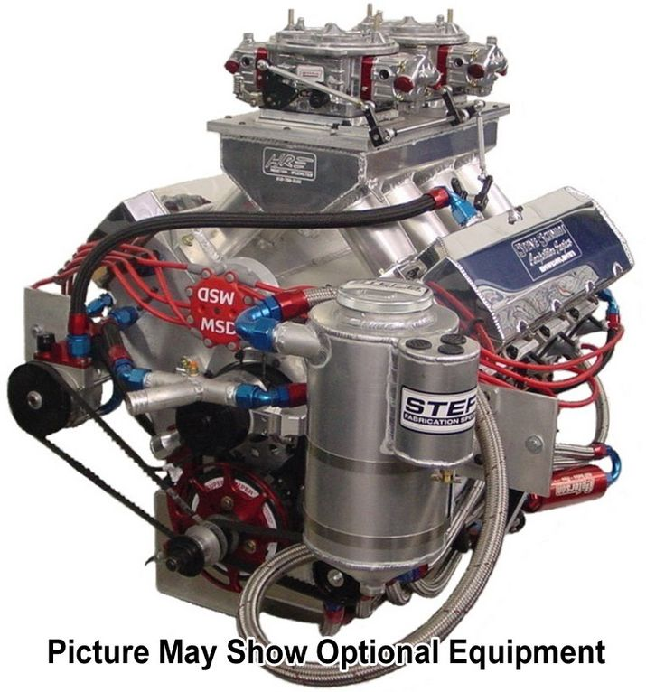 "845 Billet Block 5.2 Bore Space ""Intimidator Series"" - Steve Schmidt Racing Engines"