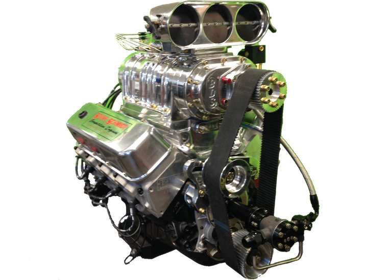 D Bae E A on Chevy Crate Engines With Blower