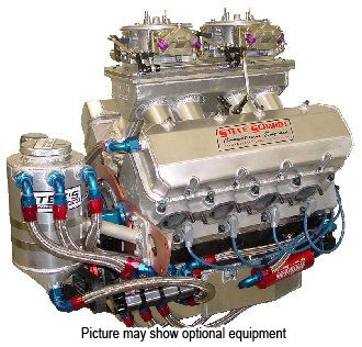 D Bae C Ca on Small Block Chevy Crate Engines
