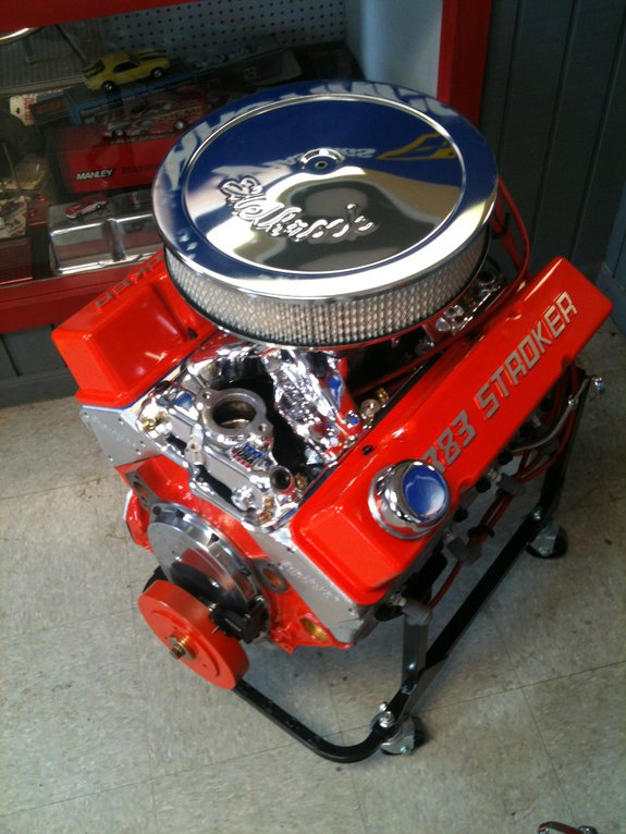 D Bae B B E Ac on 350 Small Block Chevy Crate Engine