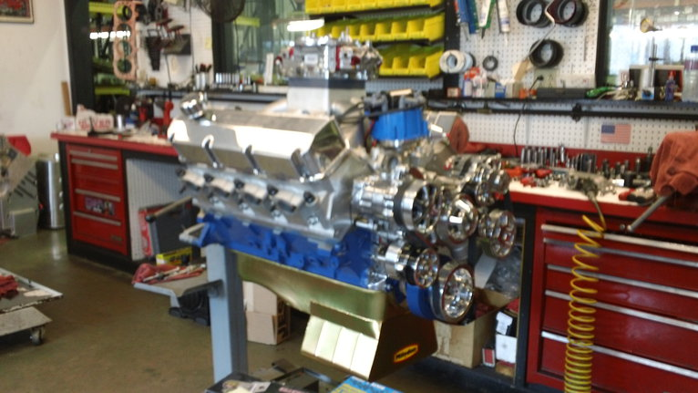 598 Ford Pro Street - Steve Schmidt Racing Engines