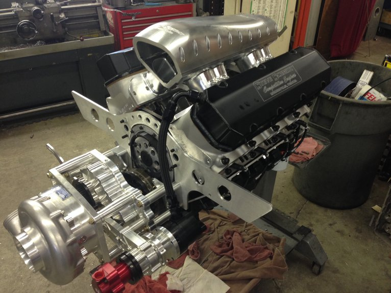 555 / 588 F3 PROCHARGER - Steve Schmidt Racing Engines
