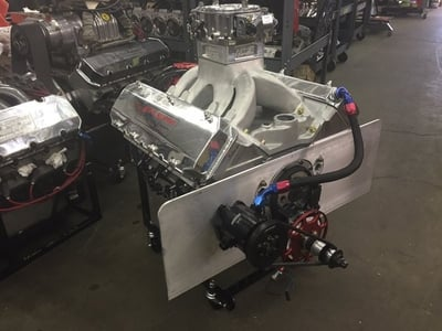 Howard Spain's 584ci S/G & Bracket Engine 9 degree heads All aluminum 1200+ hp