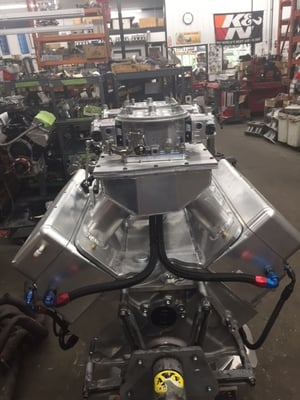 725 Cubic Inch - Ford Engine / Billet Head / 1530Hp