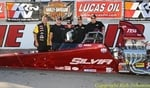 Mera Silvia wins the K&N Top Dragster Shootout at LVMS with a 780 'Intimidator' Series engine