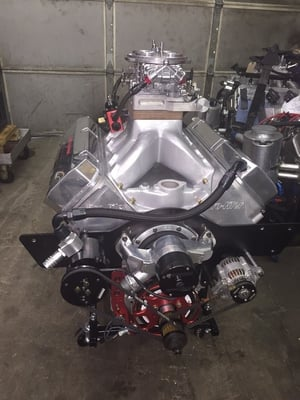 Phil Gilbert's 584ci 12 Degree Engine 1200+HP   look out S/G a lot of HP coming your way!!!