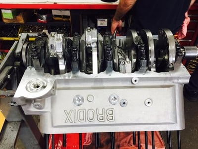 Brodix 780 Cubic Inch Drag Racing Engine  1600 HP
