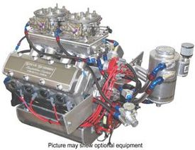 Australian 398 Pro Stock Drag Racing Engine - A Real Power House! - Steve Schmidt Racing Engines