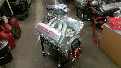 Steve Radunovich's New for 2015 9 Degree 584ci S/G Engine 1200+ HP